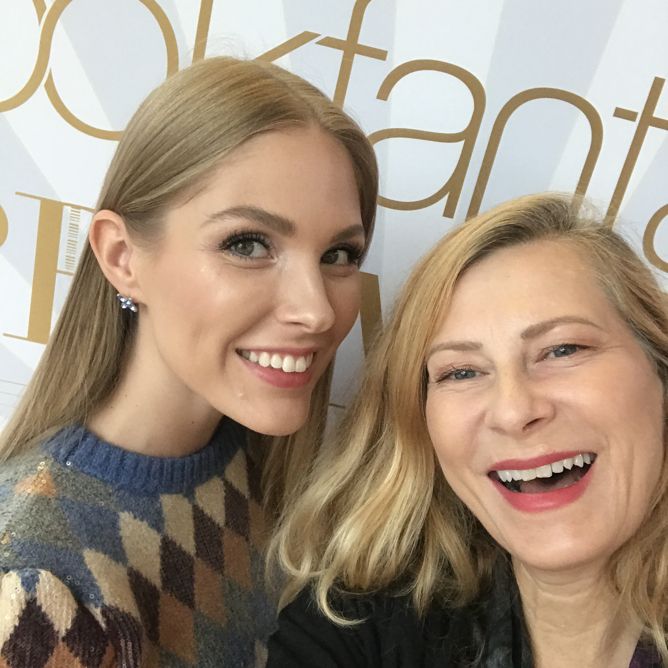 Min nyfunna vän, lyxbloggerskan och modellen från Ryssland , Lisa Starchak