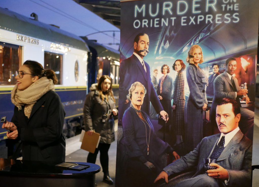 Vi steg på det legendariska tåget Orientexpressen på stationen i Paris