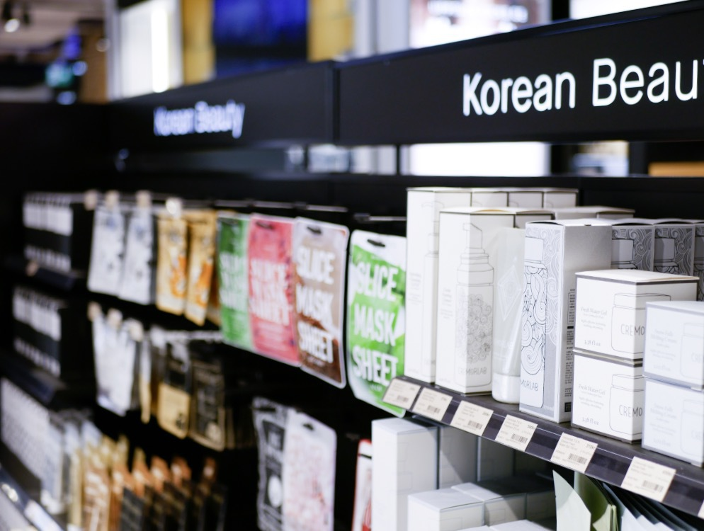 Korean Beauty har en egen hylla!